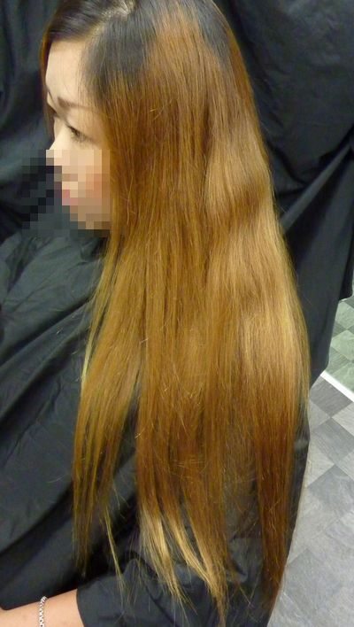 美髪縮毛矯正技術美容業界でも最新と言われる縮毛矯正をかける前