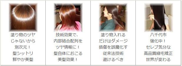 あすみが丘(あすみが丘縮毛矯正)高品質高レベルの美髪化効果
