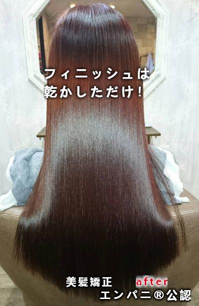 蒲田縮毛矯正 超絶上手い!マンモス級な持ちの美髪縮毛矯正