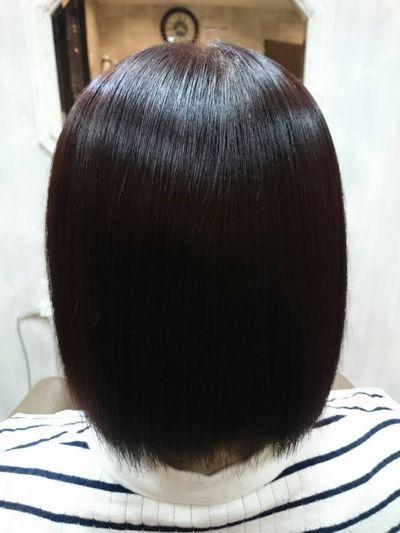 秋田縮毛矯正 髪質改善美髪矯正シルクレッチ®