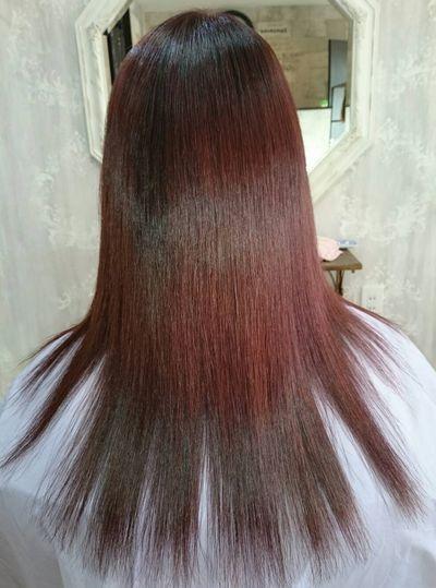 白子(しらこ)縮毛矯正が最高レベルに達した美髪矯正