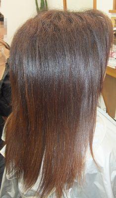 那覇美髪システム極髮講座『那覇縮毛矯正』でトップになる方法!ノートリ美髪矯正シルクレッチはダメージレスの証